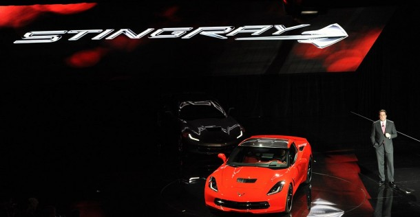 Chevrolet Corvette Stingray 2014 - Detroit Auto Show 2013