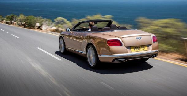Bentley Continental GT Cabrio po liftingu