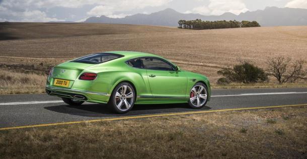 Bentley Continental GT Speed po liftingu