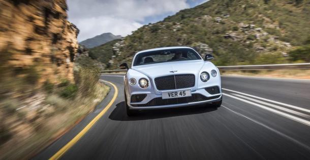 Bentley Continental GT V8 S po liftingu