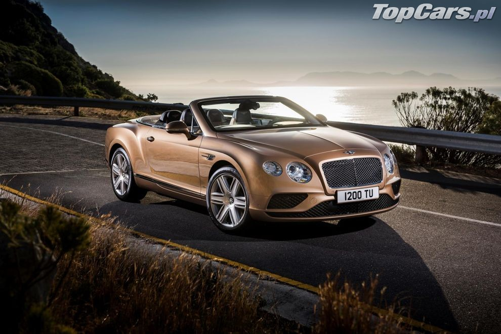 Bentley Continental GT Cabrio po liftingu