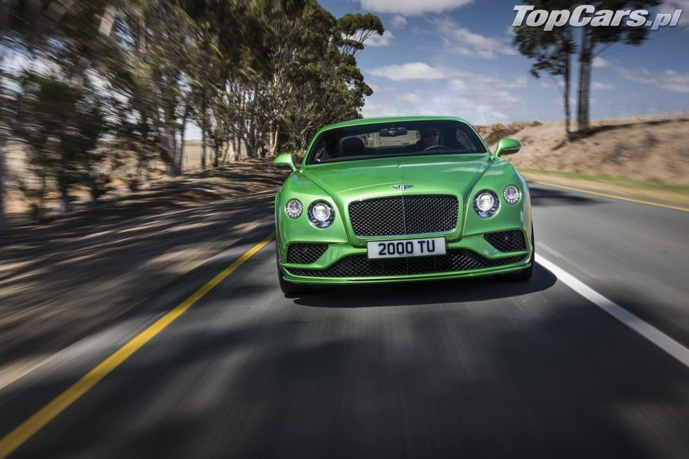 Bentley Continental GT Speed po liftingu