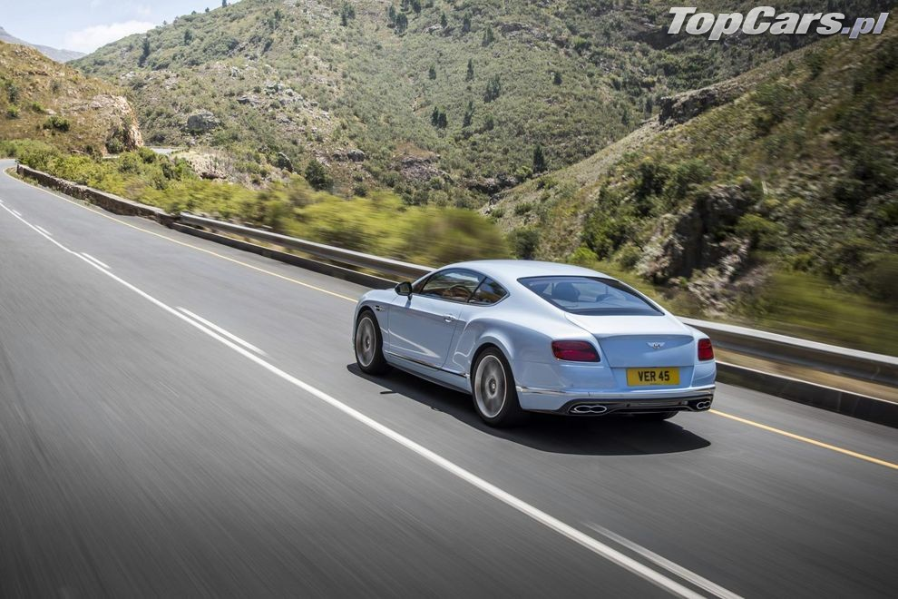 Bentley Continental GT V8 S po liftingu