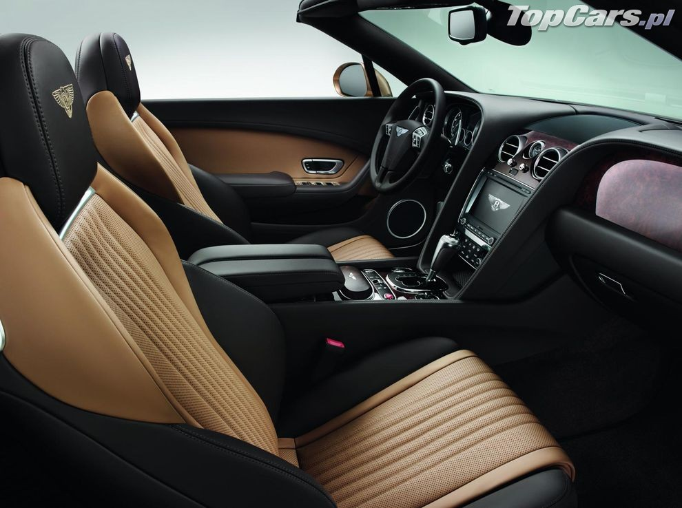 Bentley Continental GT W12 Cabrio po liftingu
