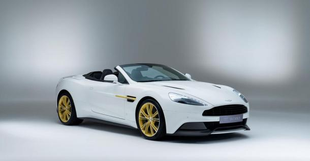Aston Martin Vanquish 60th Anniversary Edition
