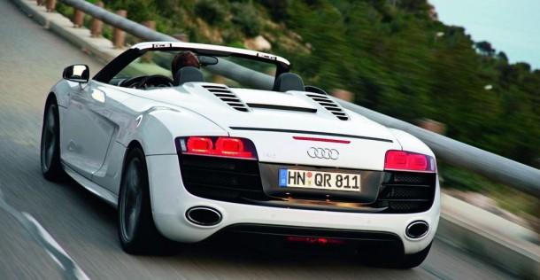 Nowe Audi R8 Spyder Spider Cabrio kabrio