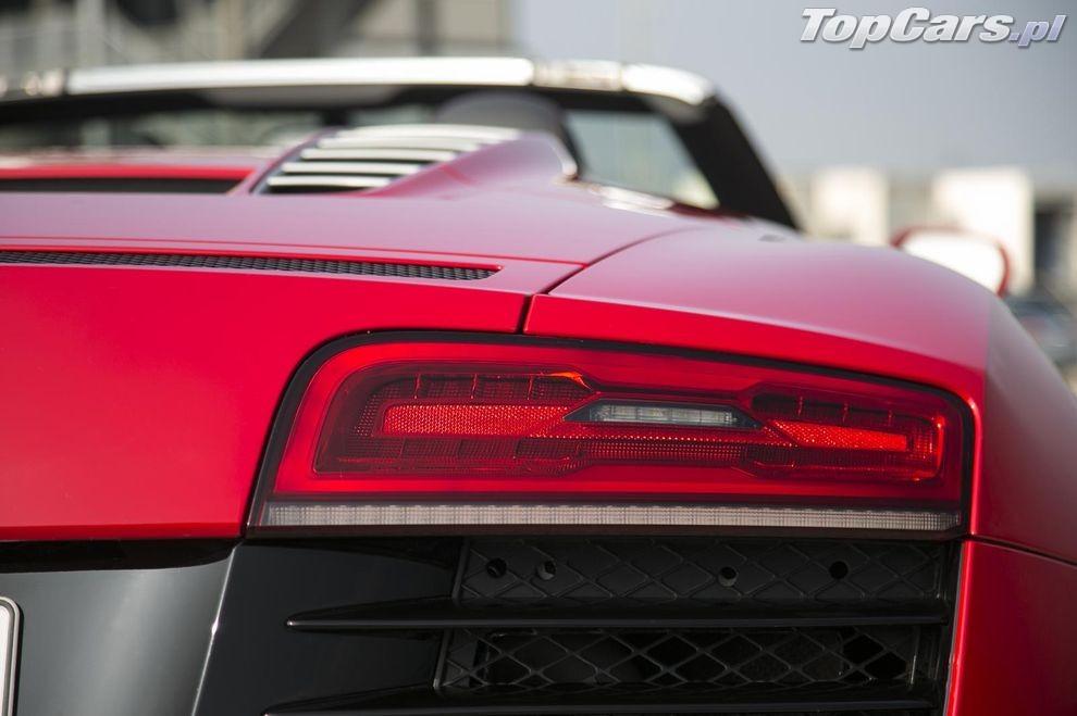 Audi R8 V10 Spyder 2014