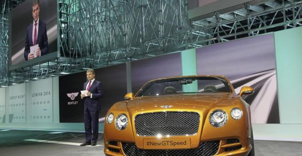 Bentley Continental GT Speed 2014 - Geneva Motor Show 2014