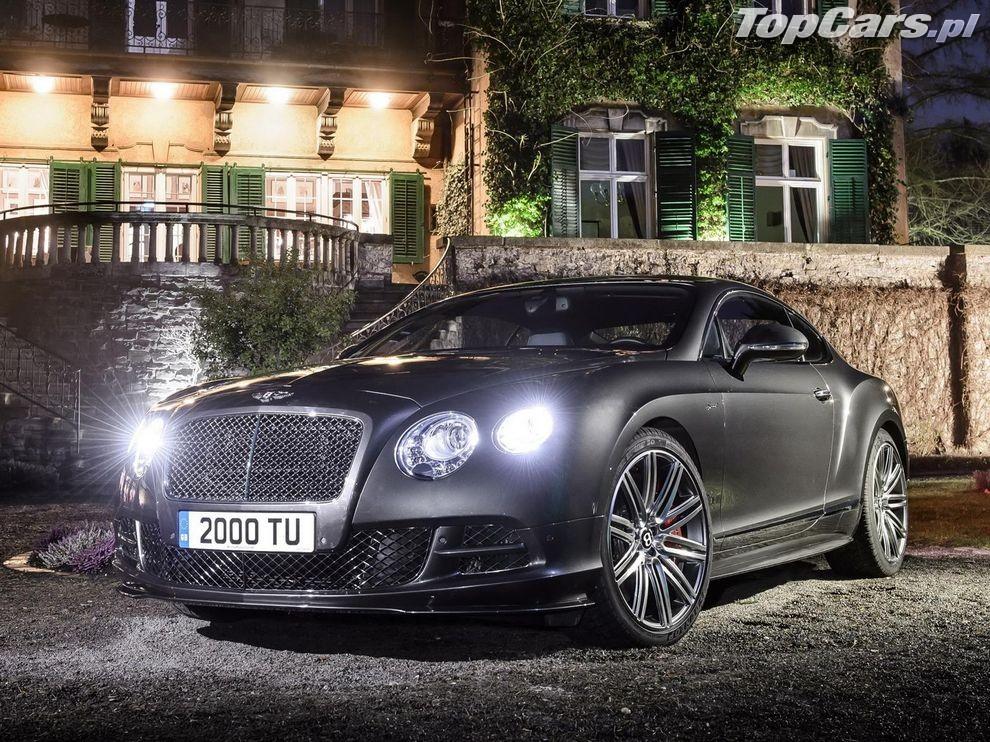 Bentley Continental GT Speed 2014