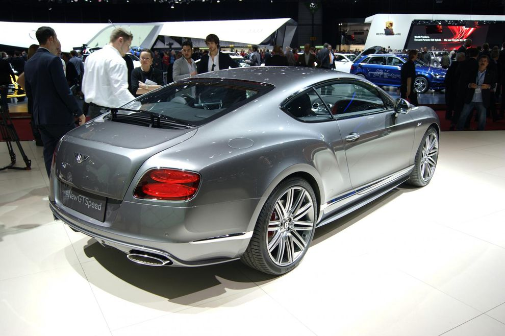 Bentley Continental GT Speed 2014 - Geneva Motor Show 2014