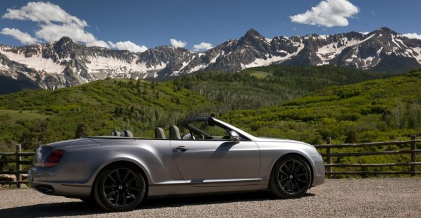 Bentley Continental Supersports Cabrio