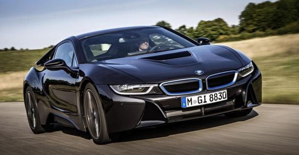BMW i8 - wersja produkcyjna