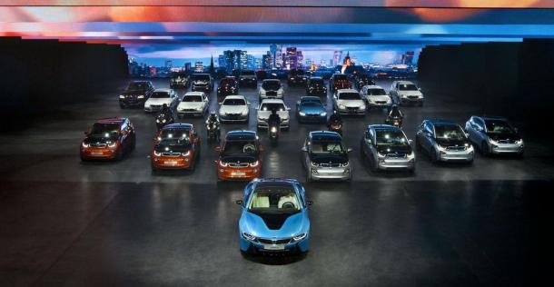 BMW i8 - wersja produkcyjna - Frankfurt Motor Show 2013
