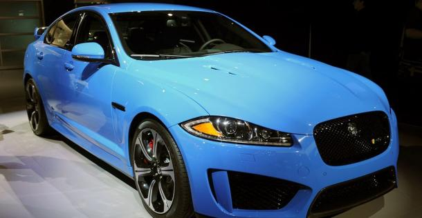 Jaguar XFR-S - Los Angeles Auto Show 2012