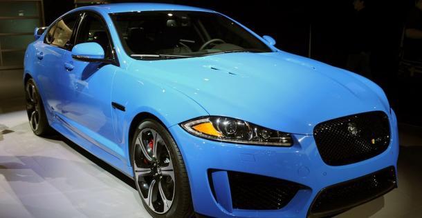 Jaguar XFR-S - Los Angeles Auto Show 2012