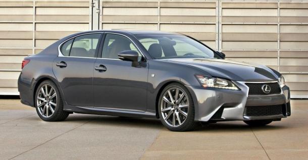 Lexus GS F Sport - model 2012