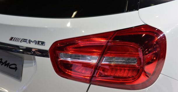Mercedes GLA 45 AMG Concept - Los Angeles Auto Show 2013