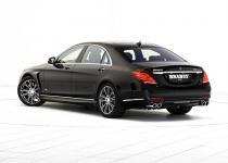 Mercedes klasy S jako 500-konna hybryda od Brabusa