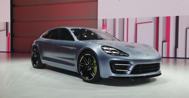 Porsche Panamera Sport Turismo Concept - Paris Motor Show 2012