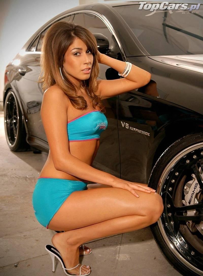 Modelka Mercedes Cls 04