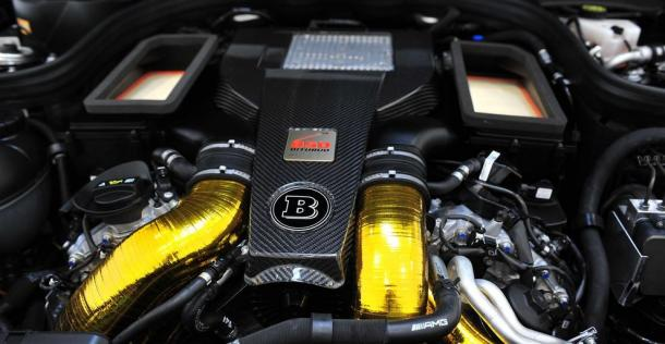 Mercedes E63 AMG 2014 - tuning Brabus