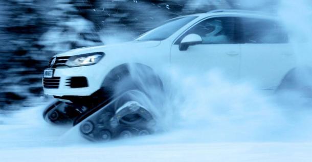 Snowareg Czyli Volkswagen Touareg Na Atak Zimy