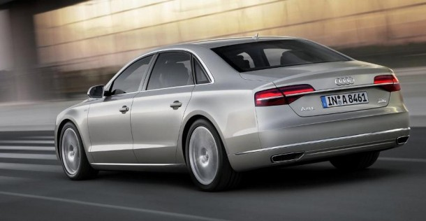 Audi A8 po face liftingu