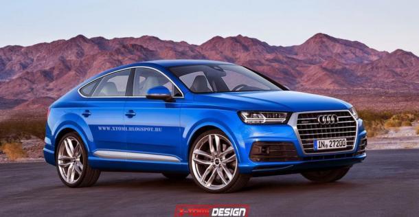 Audi Q8 - wizualizacja