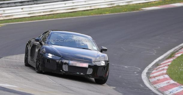 Audi R8 2015 - zdjęcie szpiegowskie