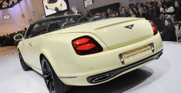 Bentley Continental Supersports Cabrio - Geneva Motor Show 2010