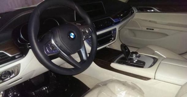 BMW serii 7 2016 bez kamuflażu