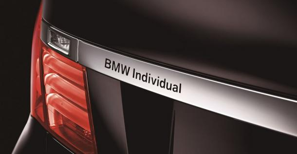 BMW serii 7 ActiveHybrid Individual Edition