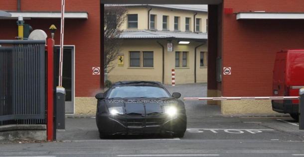 Ferrari F620 - zdjęcie szpiegowskie