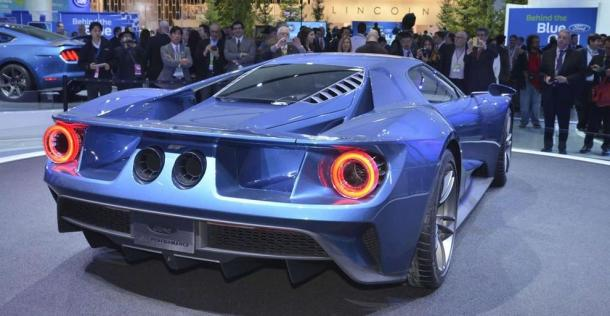Ford GT 2017 - NAIAS 2015