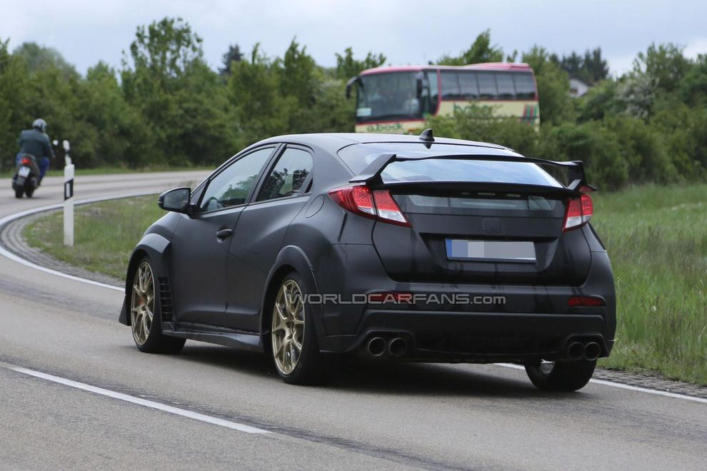 Pics Photos - Honda Civic Typer Spy Photos Reviews Prices Australian