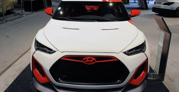 Hyundai Veloster Velocity Concept - SEMA 2012