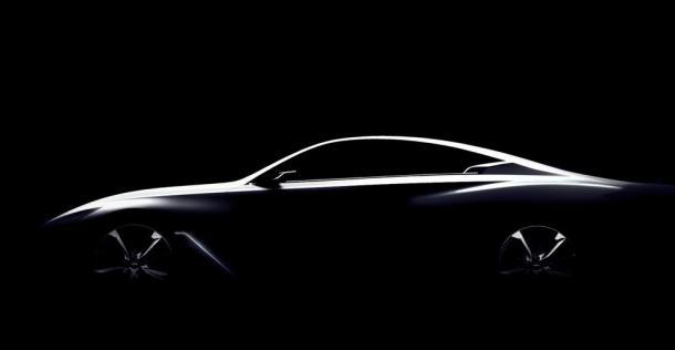 Infiniti Q60 Concept - teaser