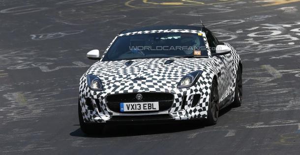 Jaguar F-Type Coupe - zdjęcie szpiegowskie
