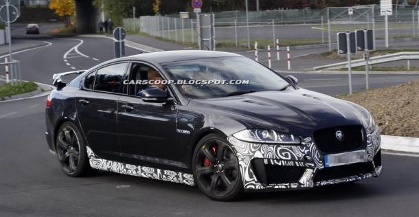 Jaguar XFR-S - zdjęcie szpiegowskie