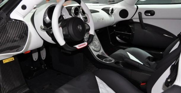 Koenigsegg Agera R na targach w Genewie