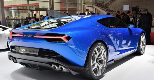 Lamborghini Asterion LPI 910-4 Concept - Paris Motor Show 2014