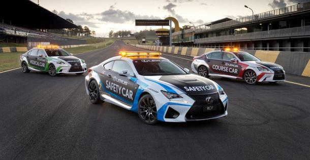Lexus - flota V8 Supercars