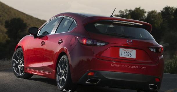 Mazda 3 MPS 2016 - wizualizacja