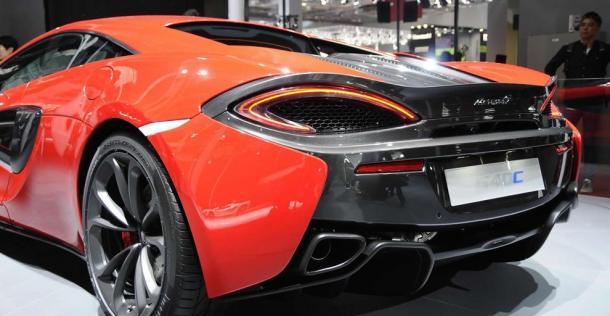 McLaren 540C - Auto Shanghai 2015