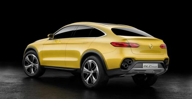 Mercedes Concept GLC Coupe
