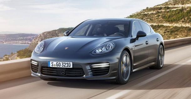 Porsche Panamera Turbo S 2014