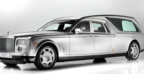 Rolls-Royce Phantom Hearse B200