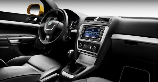 Skoda Octavia RS - farbyczna odmiana