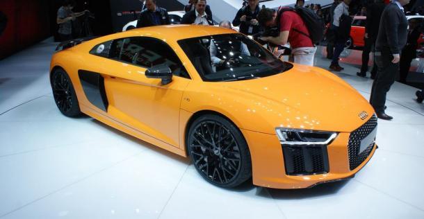 Audi R8 - Geneva Motor Show 2015