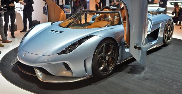 Koenigsegg Regera - Geneva Motor Show 2015